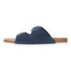 Herren-Hausschuhe aus Leder de-fonseca, Blau, 873-9610 - 26
