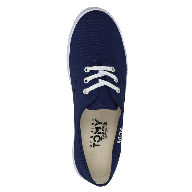 Blaue Textil-Sneakers tomy-takkies, Blau, 519-9691 - 19