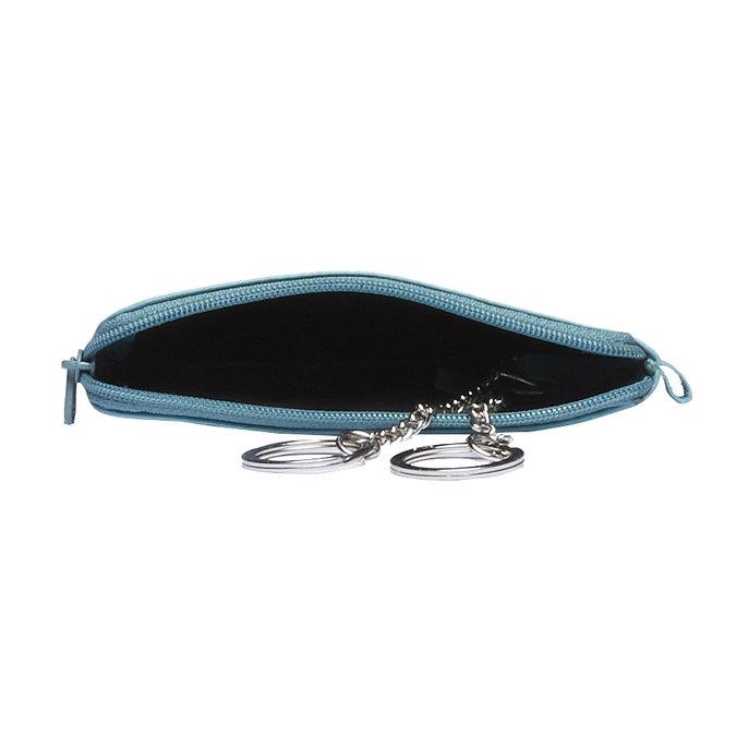 Geldbörse aus Leder bata, Blau, 944-9161 - 15