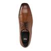 Herren-Halbschuhe aus Leder im Derby-Stil bata, Braun, 826-4736 - 19