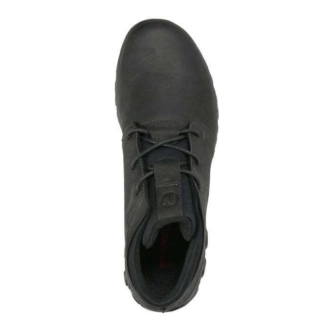 Herren-Sneakers aus Leder merrell, Schwarz, 806-6836 - 19