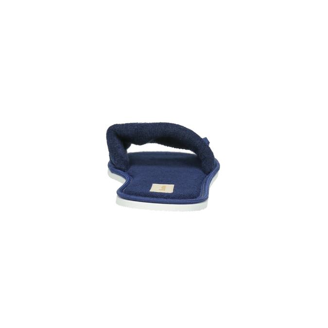 Damen-Hausschuhe mit Schleifchen bata, Blau, 579-9609 - 17