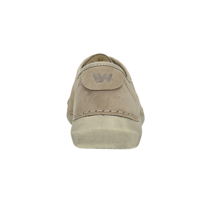 Legere Lederhalbschuhe weinbrenner, Beige, 546-2603 - 17