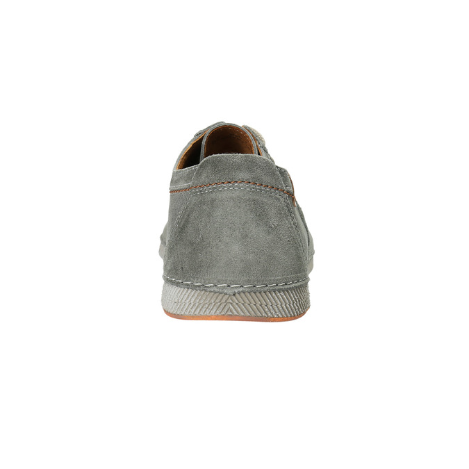 Legere, graue Halbschuhe aus Leder weinbrenner, Grau, 843-2629 - 17