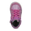 Mädchen-Sneakers aus Leder bubblegummer, Rosa, 123-5601 - 17