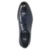 Herren-Lederhalbschuhe im Derby-Look bata, Blau, 826-9682 - 26