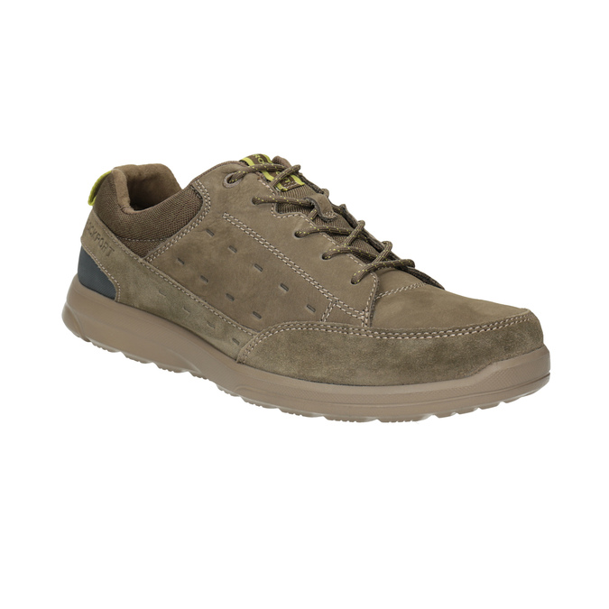Legere Sneakers aus geschliffenem Leder rockport, Braun, 826-3021 - 13