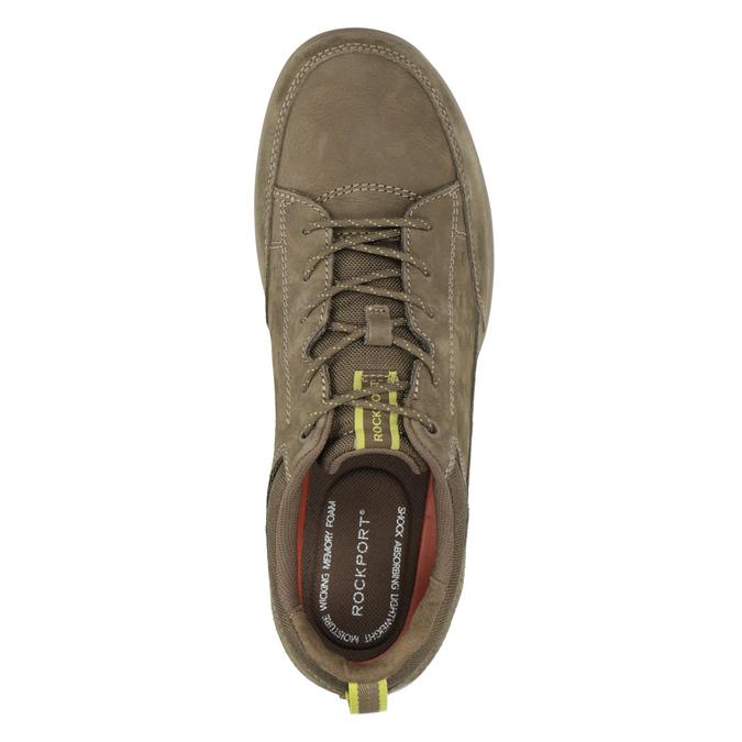 Legere Sneakers aus geschliffenem Leder rockport, Braun, 826-3021 - 15