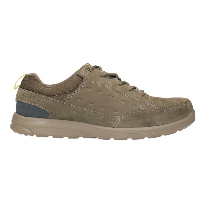 Legere Sneakers aus geschliffenem Leder rockport, Braun, 826-3021 - 26