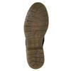 Damenstiefeletten aus Leder bata, Schwarz, 594-6681 - 17
