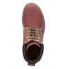 Knöchelschuhe mit markanter Sohle weinbrenner, Rot, 596-5664 - 15