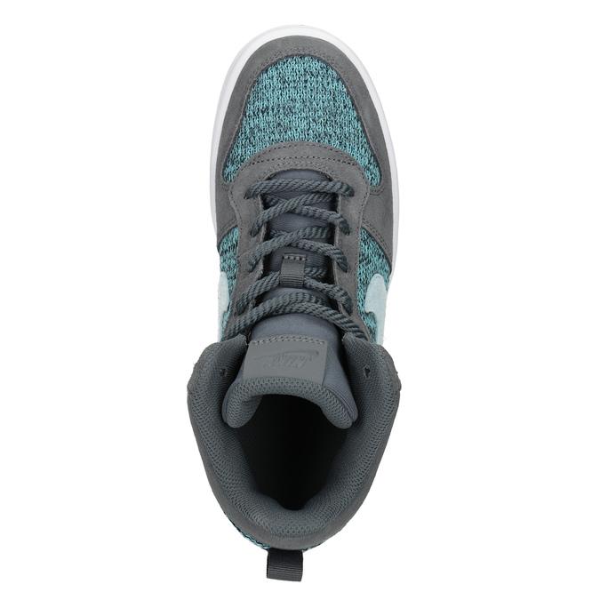 Knöchelhohe Kinder-Sneakers nike, Grau, 401-2108 - 17