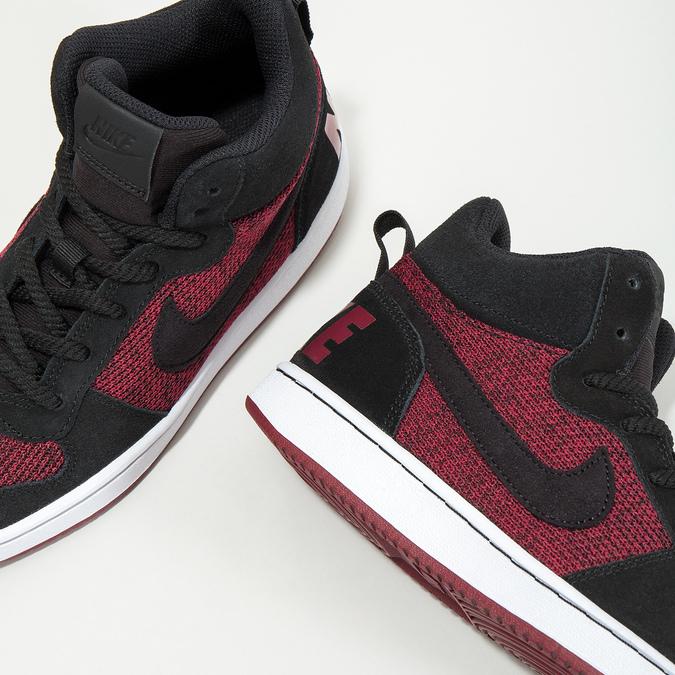 Knöchelhohe Kinder-Sneakers nike, Rot, 401-5405 - 18