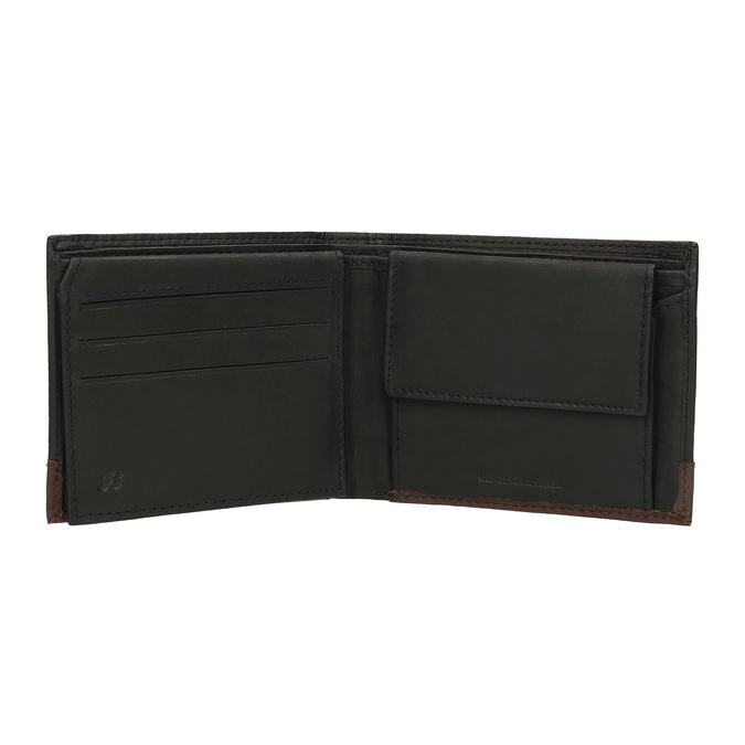 Herren-Geldbörse aus Leder bata, Schwarz, 944-6149 - 15