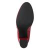 Rote Stiefeletten aus Leder bata, Rot, 794-5652 - 19