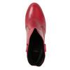 Rote Stiefeletten aus Leder bata, Rot, 794-5652 - 17
