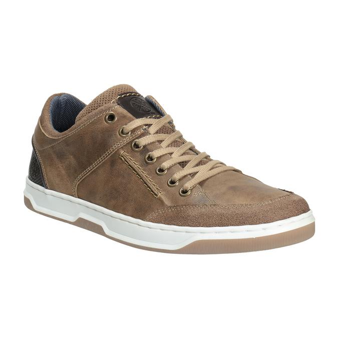 Herren-Sneakers aus Leder bata, 846-8927 - 13