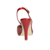 Rote Pumps mit offener Ferse insolia, Rot, 721-5616 - 16