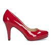 Rote Pumps aus Lackleder insolia, Rot, 728-5104 - 19