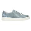 Damen-Sneakers aus Leder mit Perlen bata, Blau, 546-9606 - 26