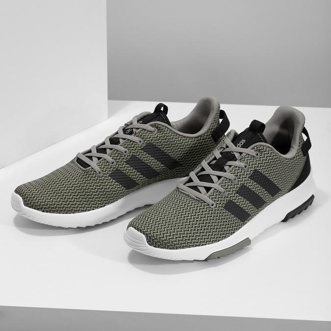 Sneakers in sportlichem Design adidas, khaki, 809-7201 - 16