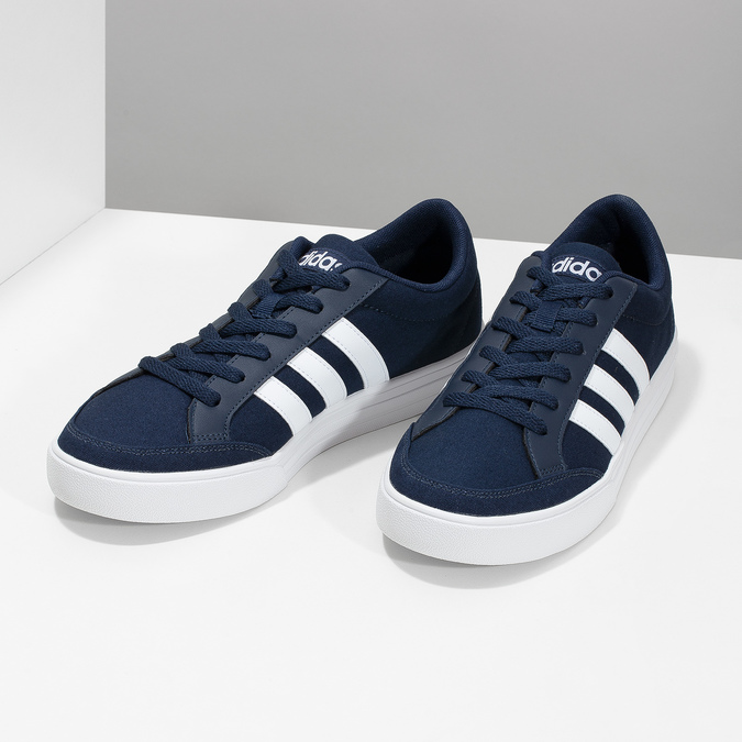 Legere Herren-Sneakers adidas, Blau, 889-9235 - 16
